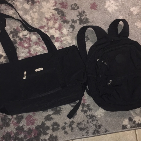 Baggallini Handbags - Combo Deal Baggallini Expandable, Or & Mi Backpack